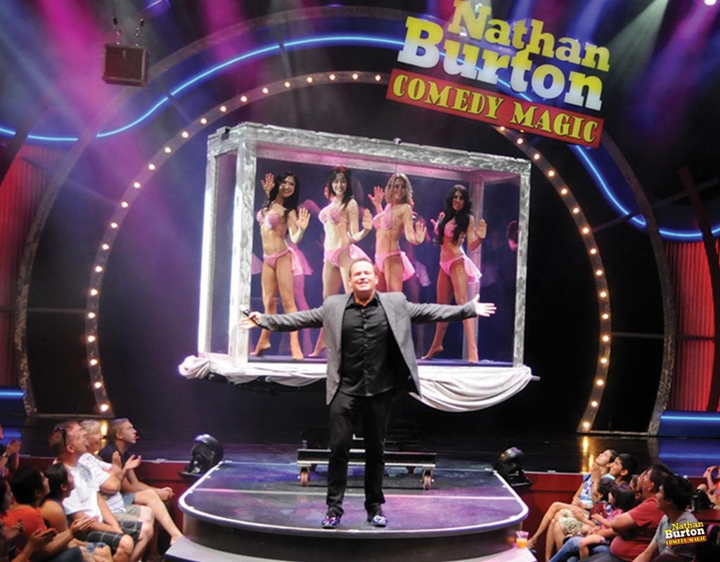 票务:拉斯维加斯,Nathan Burton喜剧魔术演出门票