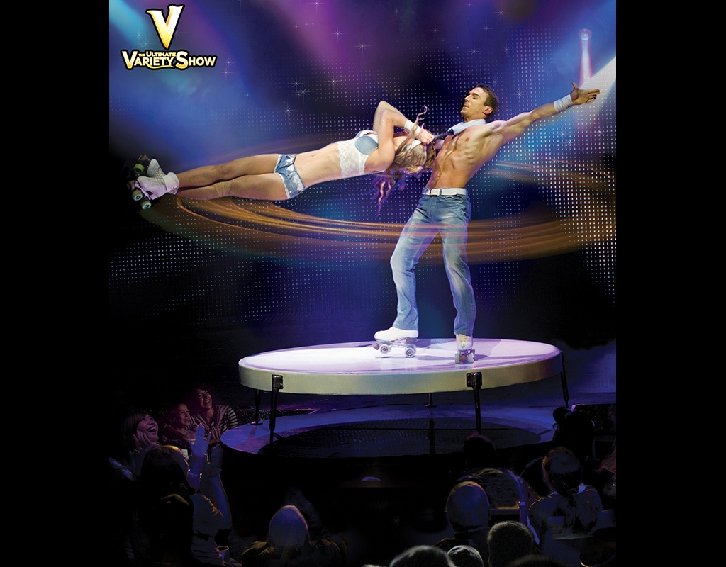 v the ultimate variety show v theater box office