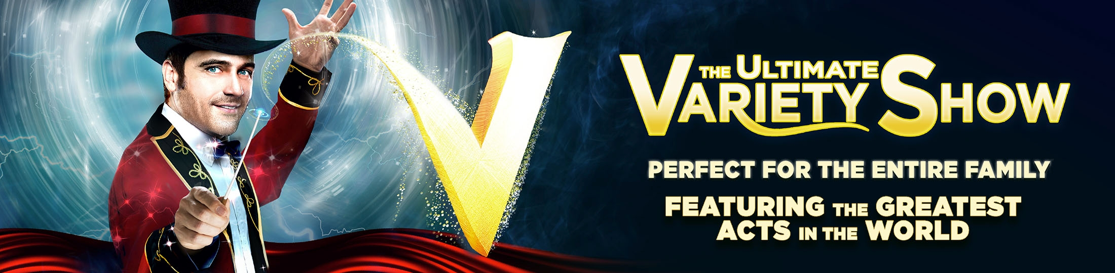 V-The Ultimate Variety Show Banner