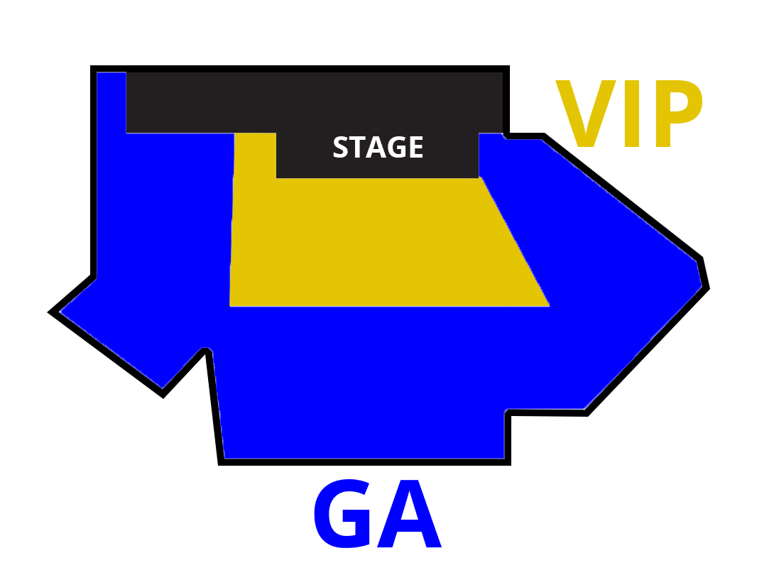 las vegas live comedy club seating chart thumbnail
