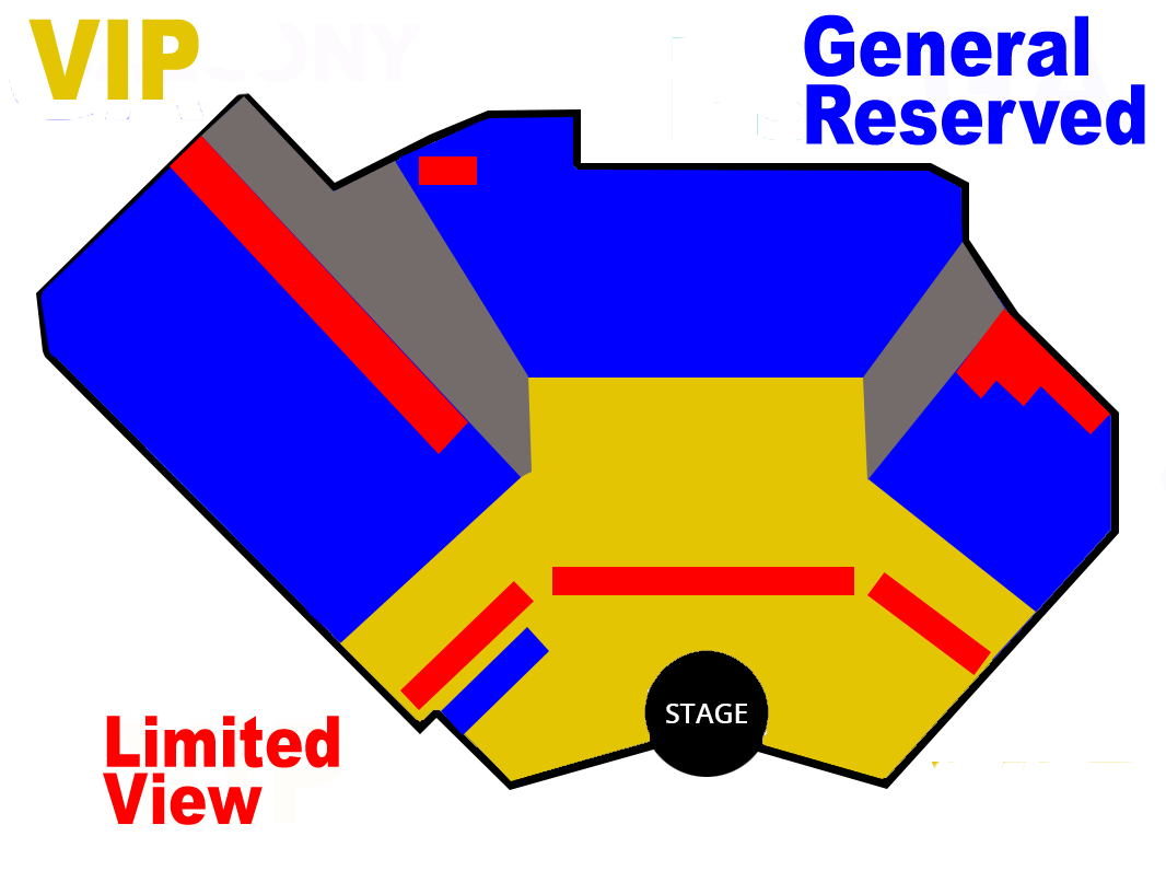 v the show seating chart thumbnail